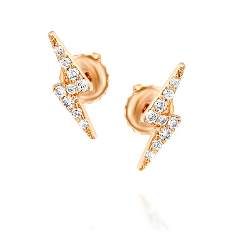 Sparkle Rose gold Earrings