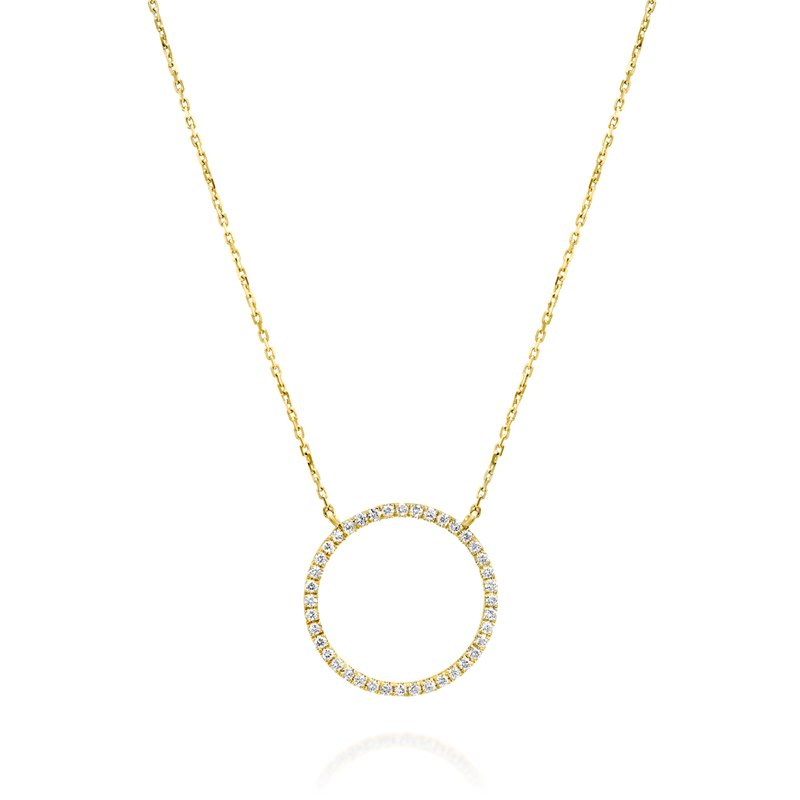 Mia Yellow Gold Necklace