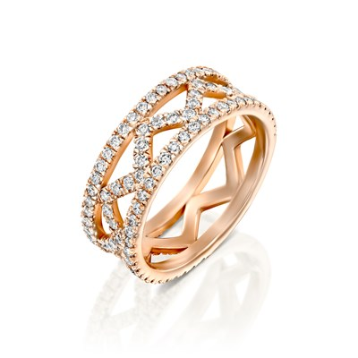 Liat Rose gold ring