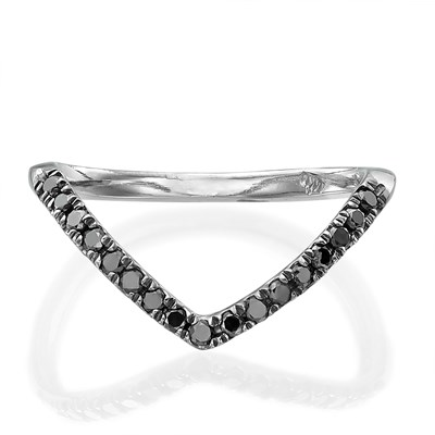 Daniel Black Diamond Ring