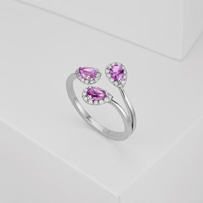 Pear Drop Ring