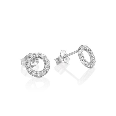Mazali White gold Earrings