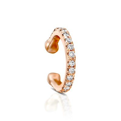 Rose gold Diamond Helix