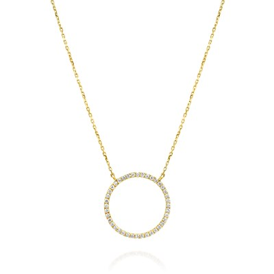 Mali Yellow Gold Necklace