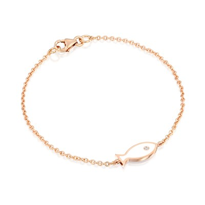 Ema Rose Gold Necklace