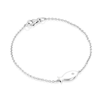 Ema White Gold Necklace