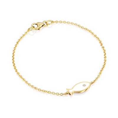 Ema Yellow Gold Necklace
