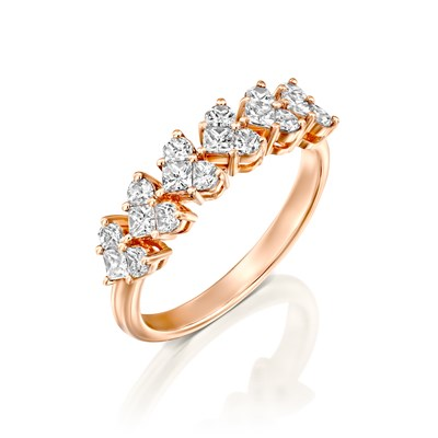 Shiri Red gold Ring
