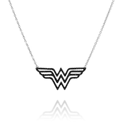 Wonderwoman White gold Necklace