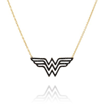 Wonderwoman Yellow gold Necklace