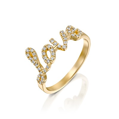 Love Yellow gold Ring