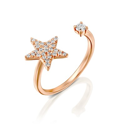 Adi Rose gold Ring