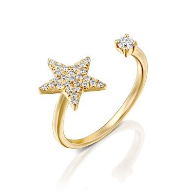 Adi Yellow gold Ring