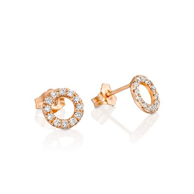 Mazali Rose gold Earrings